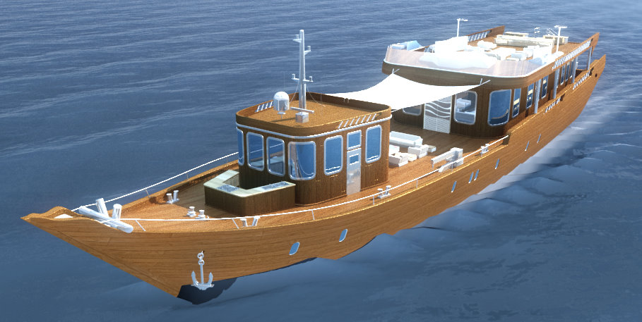 BCTQ Dubai awarded second phase of Super Dhow design work